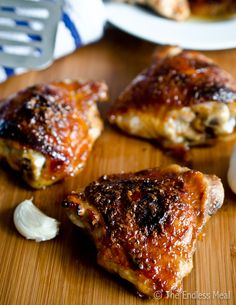 Honey Garlic Chicken,