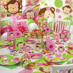 Mod Monkey Birthday