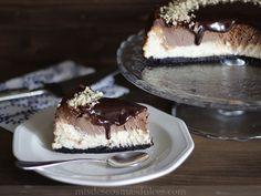 Nutella® Cheesecake, una deliciosa tarta de queso con crema de chocolate Nutella®. Esta tarta es perfecta para los amantes de las tartas de ...
