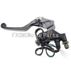 """52.89$  Buy here  - """"7/8"""""""" CNC Brake Levers Master Cylinder Reservoir Clutch Handle Black For KTM 450RALLY REPLICA 450SMR 50-550cc Motorcycle"""""""