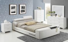 Layla Bedroom Set with Storage Bed