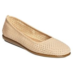 Women's A2 by Aerosoles  Solsa Dance Perforated Flats