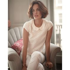 Boden Limited Edition broderie top