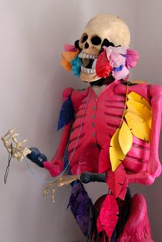 Skeleton in Pink Mexico City | Flickr - Photo Sharing!