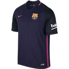 Nike Men s FC Barcelona 2016-17 Away Jersey Soccer Kits 498bfd61b4e