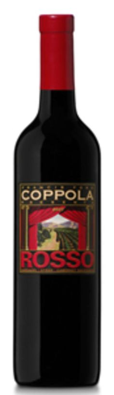 Ten best wines under $15.00.  Francis Ford Coppola Rosso, $8
