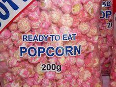 Pink popcorn?