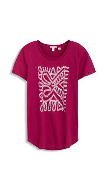 OUTLET multi print t-shirt