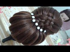 peinados recogidos faciles para cabello largo bonitos y rapidos con trenzas para niña para fiestas39 - YouTube