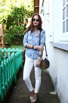 Daily Look: Denim on Denim. www.ddgdaily.com #fashiontrends