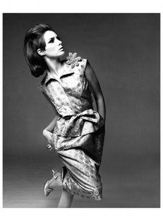 Jennifer O'Neill in Hubert de Givenchy Dress, photographed by Bert Stern for Vogue, 1964