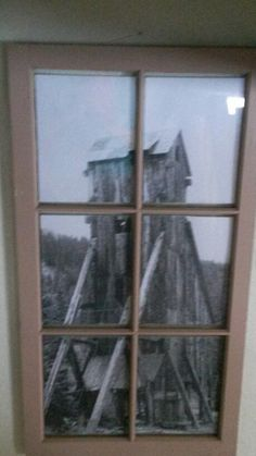 I've wanted to do something with old windows forever.  Finally found windows and here's what I did.  Love them!!!