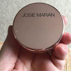 Josie Maran Luminous Hydrating Liquid Powder. Josie Maran Luminous Hydrating Powder. Swatched once..full. Josie Maran Makeup Face Powder