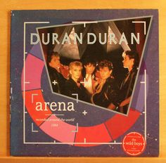DURAN DURAN Arena Vinyl LP + Booklet Wild Boys Hungry like the Wolf New Religion