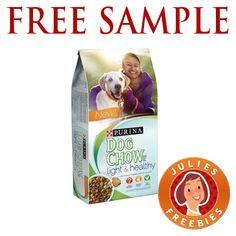 Free Sample of Purina Dog Chow Light