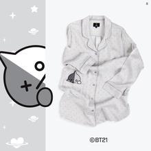 line x bt21 bt21 dress sleepwear free shipping in 2020 sleepwear vans jacket one piece pajamas