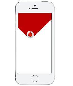 My Vodafone IT by beeweeb design, via Behance