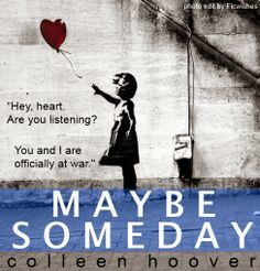 FicWishes: Always - A Review of MAYBE SOMEDAY by Colleen Hoover