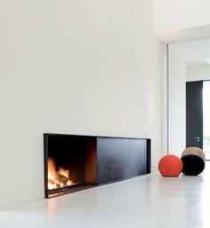 Fire place by De Puydt | Interior Architecture: Steven Van Compernol.