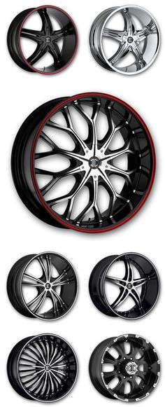 2Crave rims, available at Discounted Wheel Warehouse.