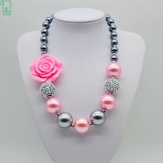 Compare prices on Pink Rose Jewelry – Shop best value Pink Rose Jewelry with international sellers on AliExpress Little Girl Jewelry, Kids Jewelry, Jewelry Crafts, Handmade Jewelry, Personalized Jewelry, Jewelry Shop, Unique Jewelry, Rose Jewelry, Bead Jewellery