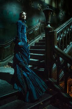 "Jessica Chastain -""Crimson Peak"" (2015) - Costume designer : Kate Hawley"