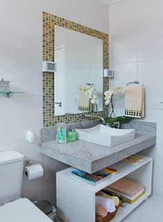 Banheiro pratico e moderno