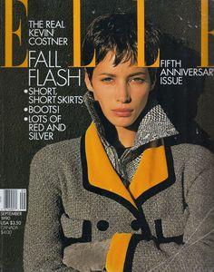 Elle US September 1990 - Christy Turlington