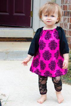 Fall Toddler Dress