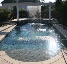 Pool Finishes Are the Secret Ingredient It's no secret that designing a pool can be the ultimate way to showcase your home accents and more importantly, your creativity as well as style. Swimming pools are an extension of your home and the pool finish you choose can shine in its simplicity or add a