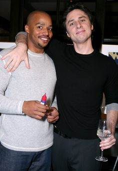Still need more proof?! Just look at any one of these photos: | Donald Faison And Zach Braff Are The Ultimate Best Friends