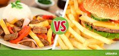 ¿Prefieres una rica comida casera o una práctica comida rápida?