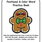 This fun booklet students will manipulate Gingerbread Man to go