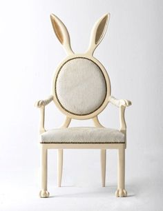 stunning Zoomorphic Chairs by Merve Kahraman