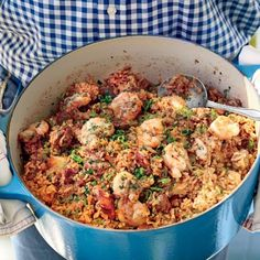 Creole Seafood Jambalaya - October 2015 Recipes - Southern Living