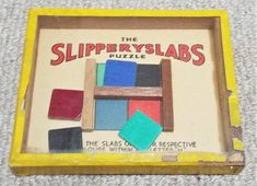 Slipperyslabs Vintage Dexterity Puzzle Game R. Puzzle Games, Game R, Wooden Frames, Patience, Puzzles, Palm, Toys, Handmade, Vintage