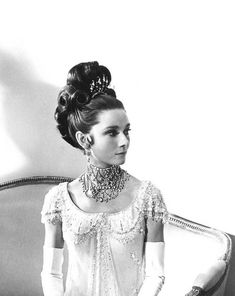 """""""In that absolutely sublime dress, with my hair dressed to kill, and diamonds everywhere, I felt super! Clothes, like they say, make the man, but in my case, they also gave me the confidence I often needed"""" - Audrey Hepburn"""