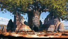 Image result for african fantasy landscape