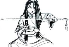 Concept art for Disney Mulan