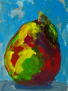 Pear painting