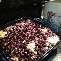 Huckleberry Buckle II Recipe - Allrecipes.com
