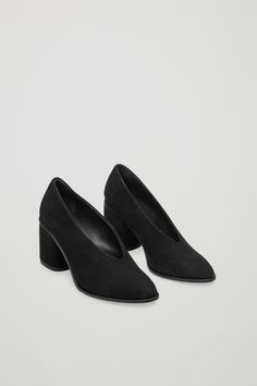 COS image 2 of Chunky heel pumps in Black