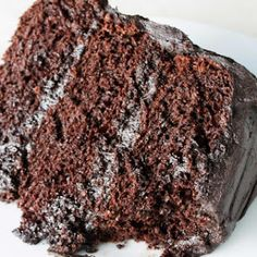 The Most Amazing Chocolate Cake.
