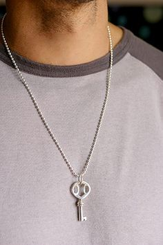 Mens Key Necklace