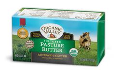 This butter is the only kind I know of in the US that I think is worth it.  Two reasons: 1) pasture butter has more micronutrients because the cows are fed on green plants 2) cultured butter has better flavor. Read more here: http://www.organicvalley.coop/community/beyond-the-plate/the-grass-is-greener/