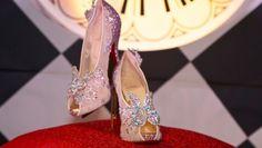 Carey Mulligan Stuns in Glittery Erdem Dress and New Christian Louboutin ��Baila Spike�� Pumps