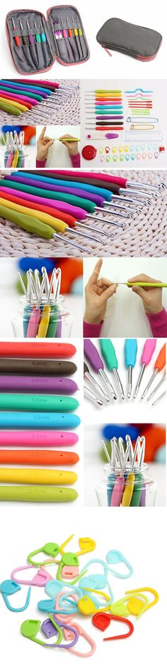 US$13.99 Crochet Needle Hooks Set Organiser Case Accessories Knitting Kit Craft Tools