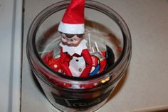 Our Elf On The Shelf Week 1 Hello Kitty Candy from Japan
