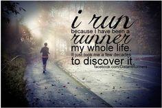I love this one! Put it on my phone so I can be reminded daily! #motivation #runner