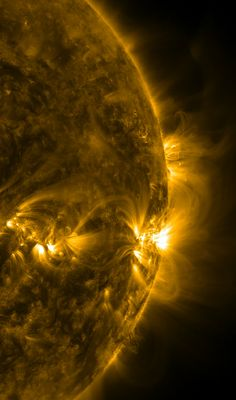 Sun Storms The limb of the Sun